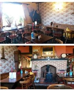 Hill House Inn dining room, Happisburgh in Norfolk