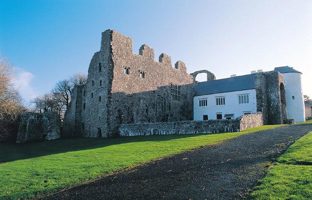 Oxwich castle Gower