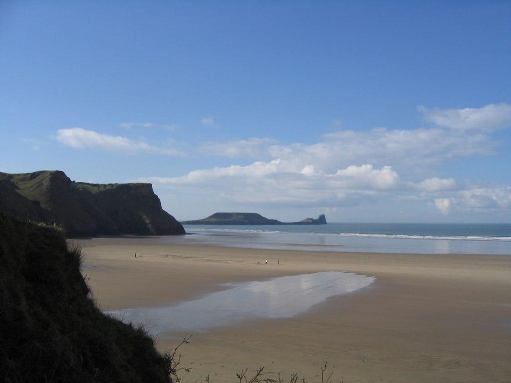 Gower Beaches - Worms Head Rhossili Bay