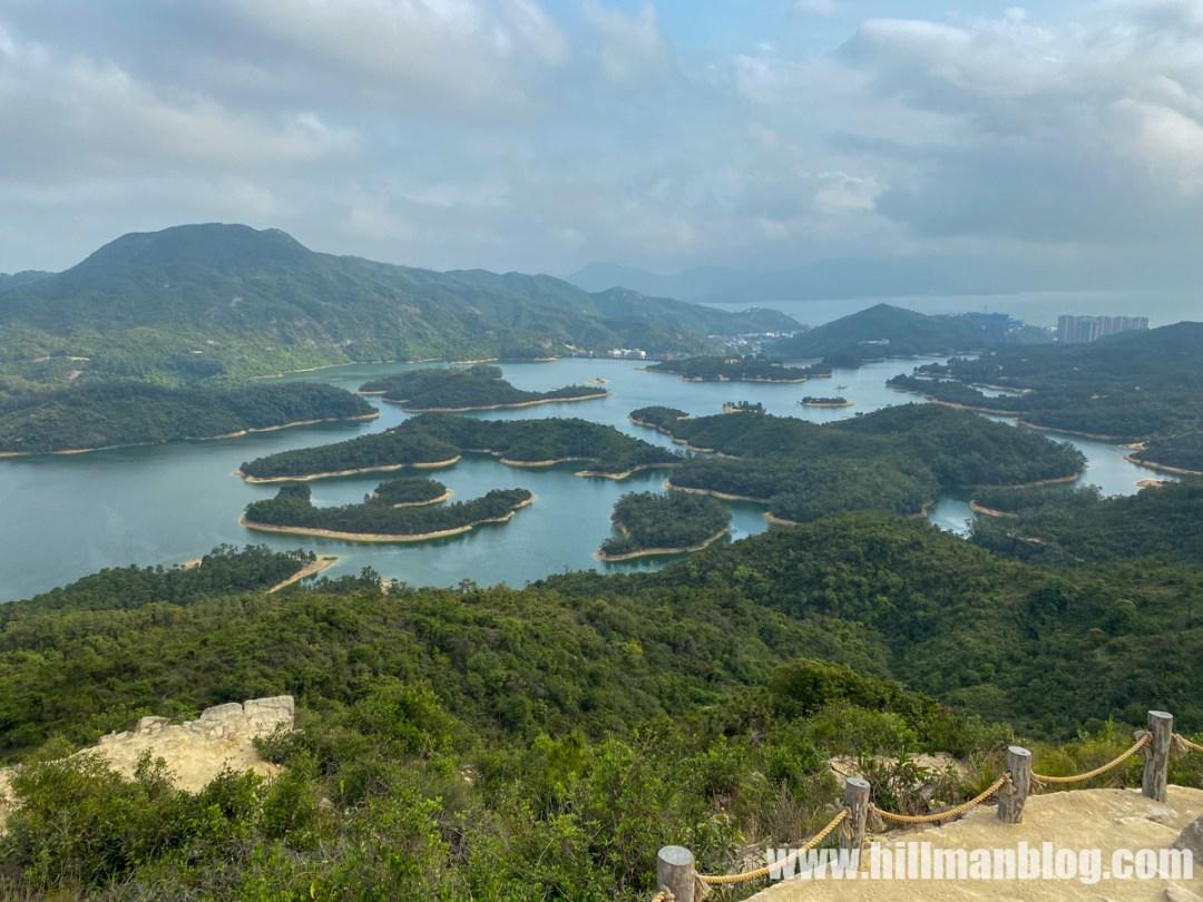 千島湖清景台.黃泥墩水塘