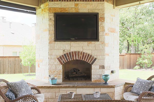 Outdoor Fireplaces Burleson Fort Worth Colleyville Tx