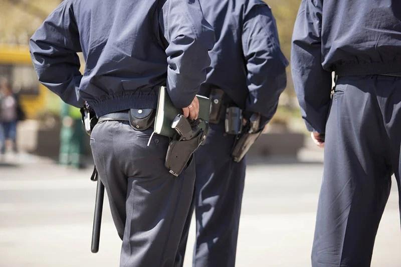 an Armed Patrol in Los Angeles