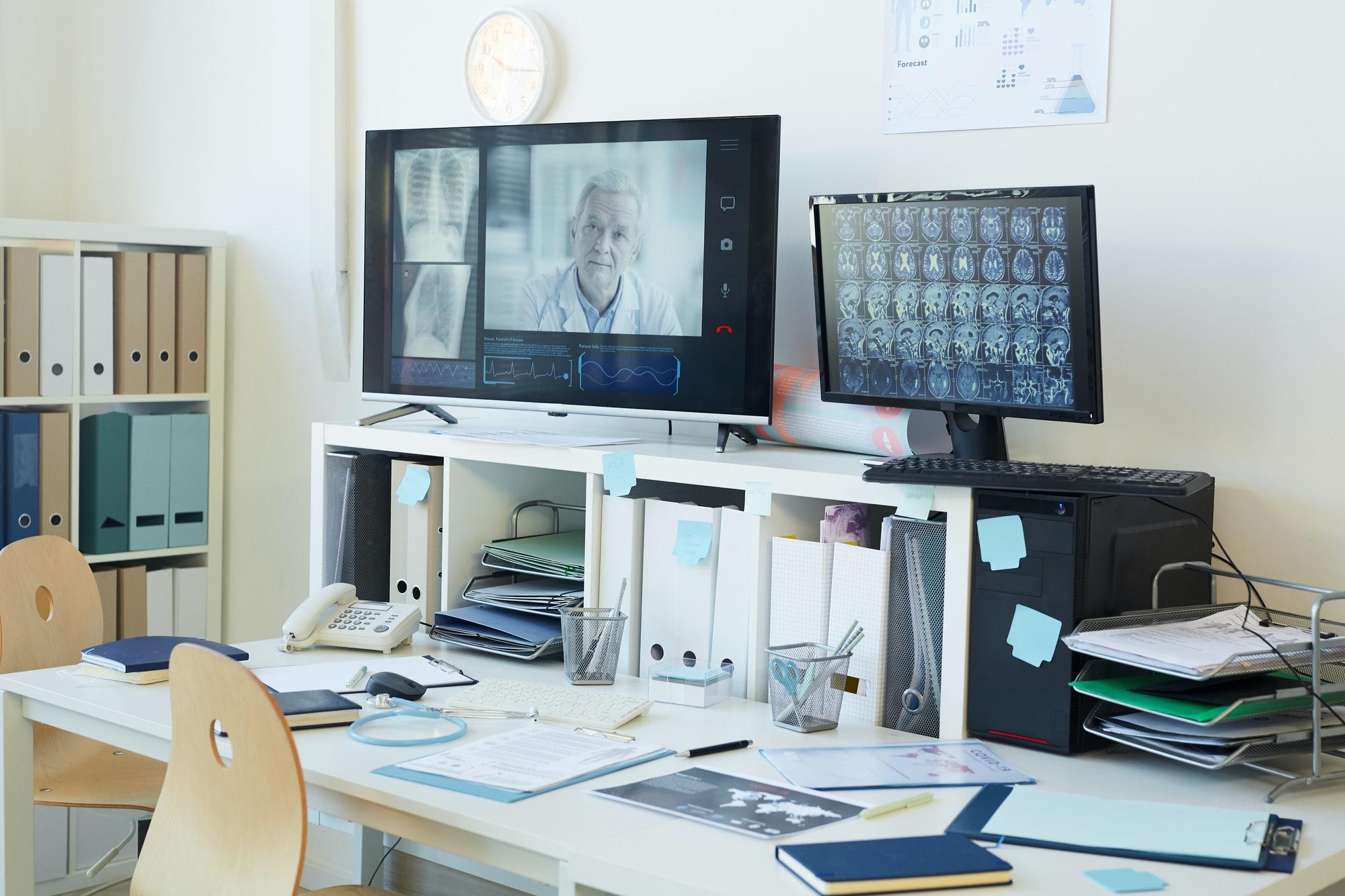 Telemedicine Equipment in Clinic
