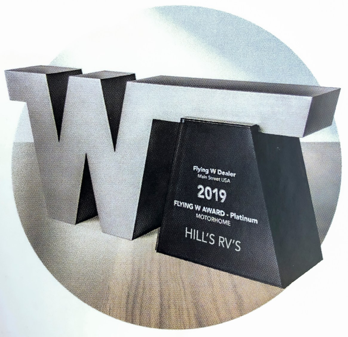 Flying W Award Hill's