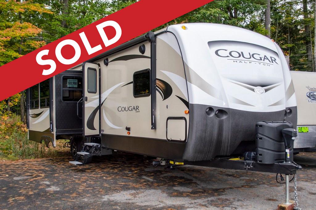- Sold! 2018 Keystone Cougar Half-Ton 32RLI Image