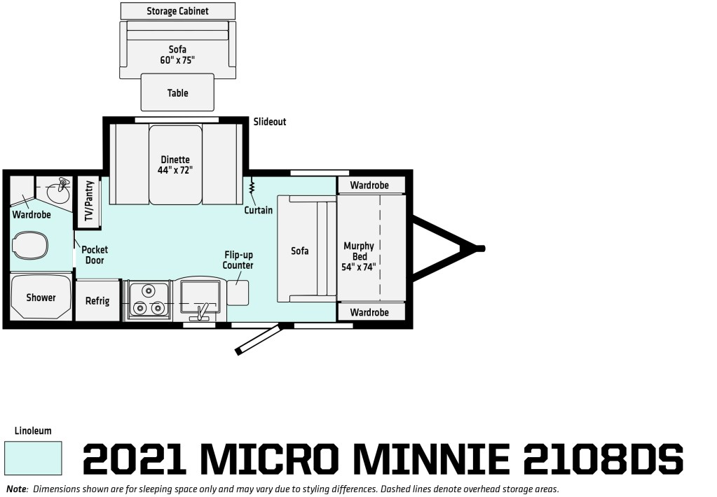 On Order - 2021 Micro Minnie 2108DS Image
