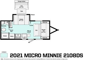 2021 Micro Minnie 2108DS Image