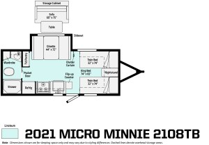 2021 Micro Minnie 2108TB Image