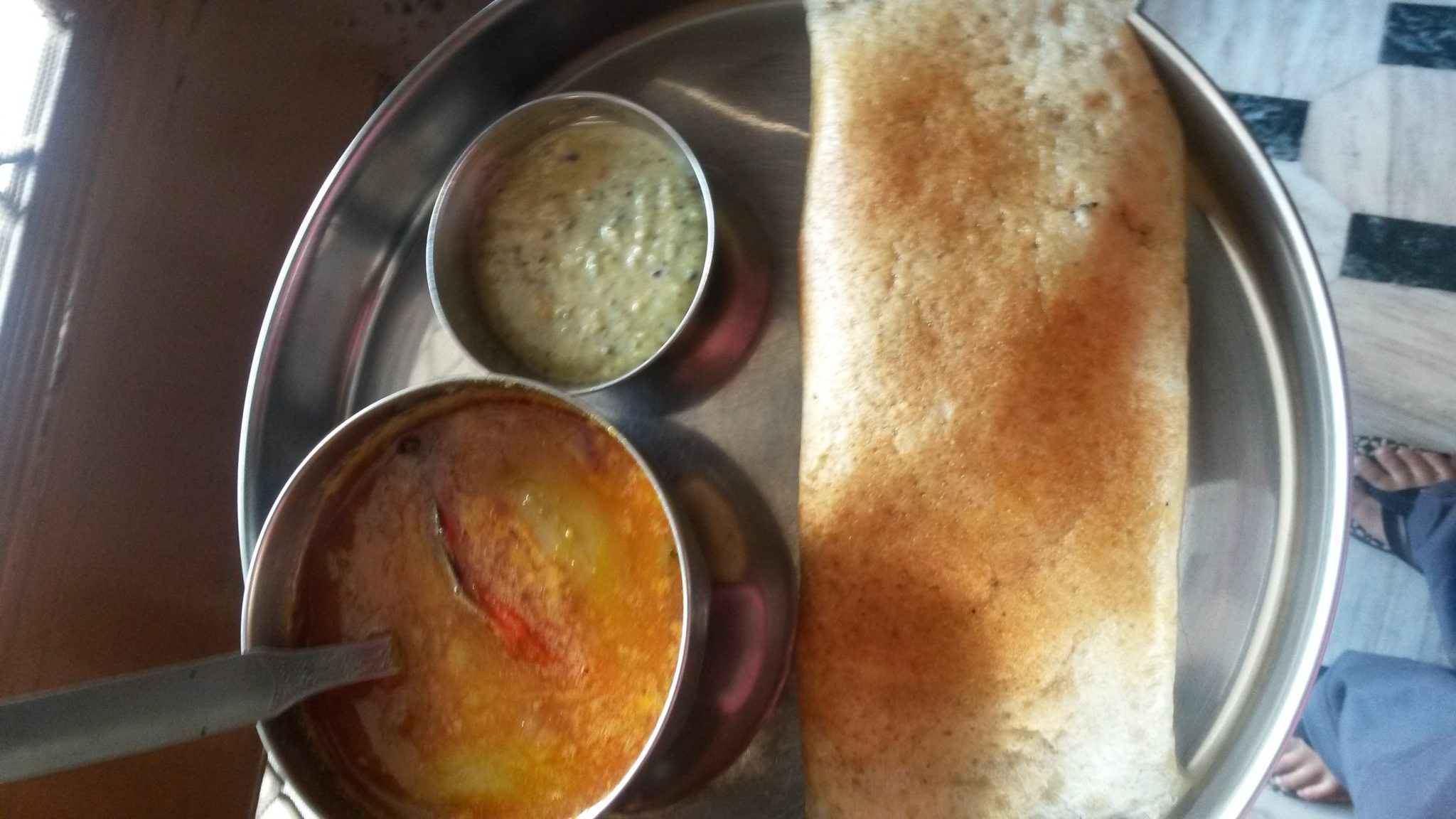 Quick, healthy and veg Dosa recipe