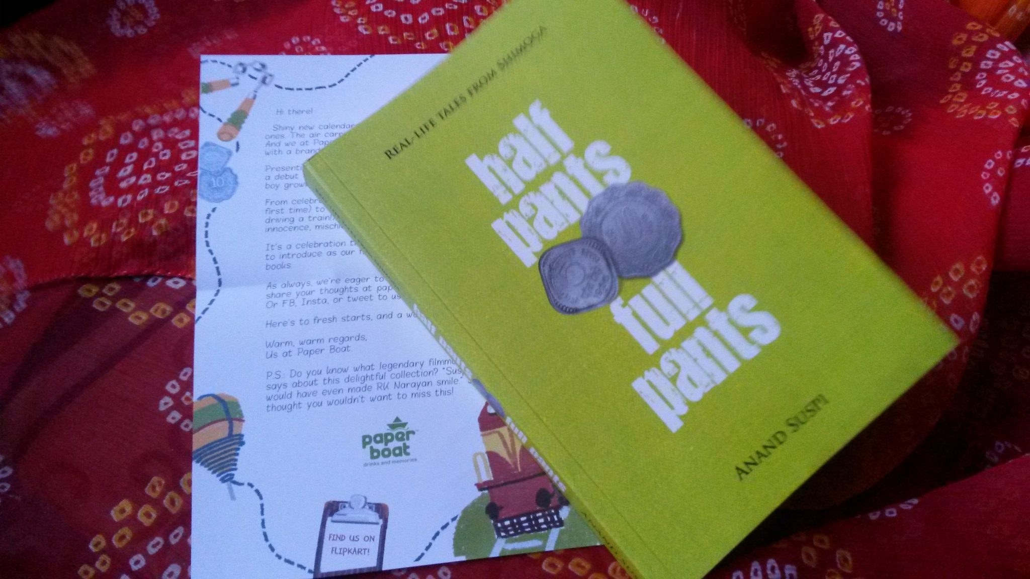 Paper Boat presents Half Pants Full Pants by Anand Suspi Book review