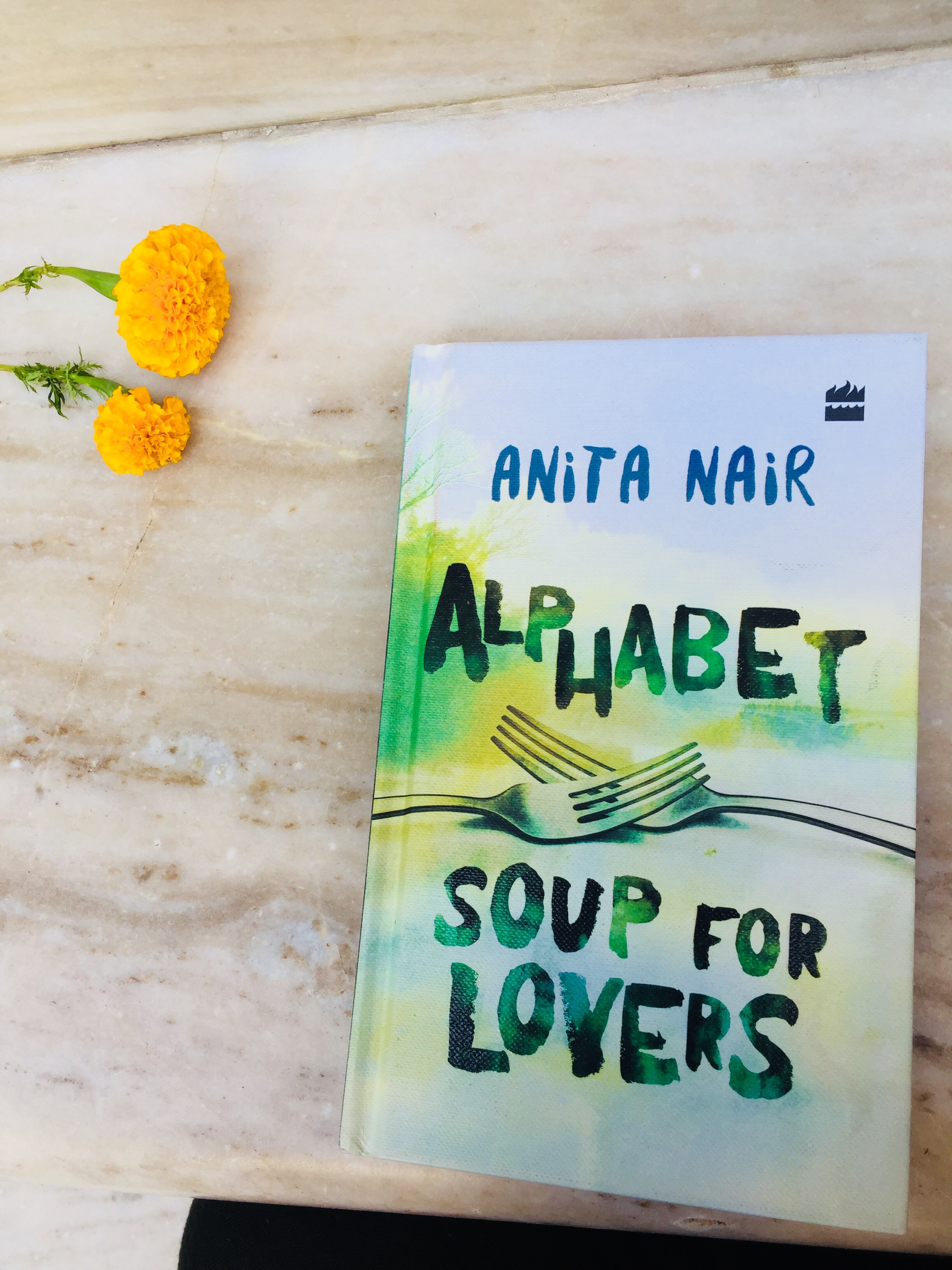 Alphabet soup for lover by Anita Nair #atozchallenge