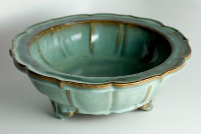 Hill-Stead Decorative Arts Celadon Tulip Bowl