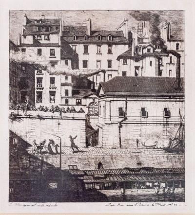 Hill-Stead Prints La Morgue _