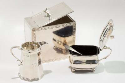 Hill-Stead Silver set