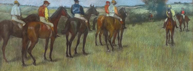 Jockeys, Edgar Degas