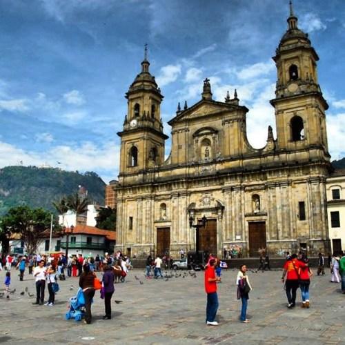 Plaza de Bolívar y Catedral de Bogotá