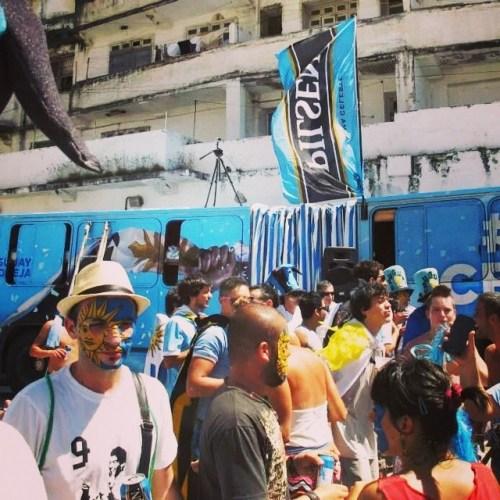 Bus de Pilsen en Fortaleza #almaceleste