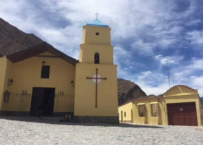 La iglesia de Iruya