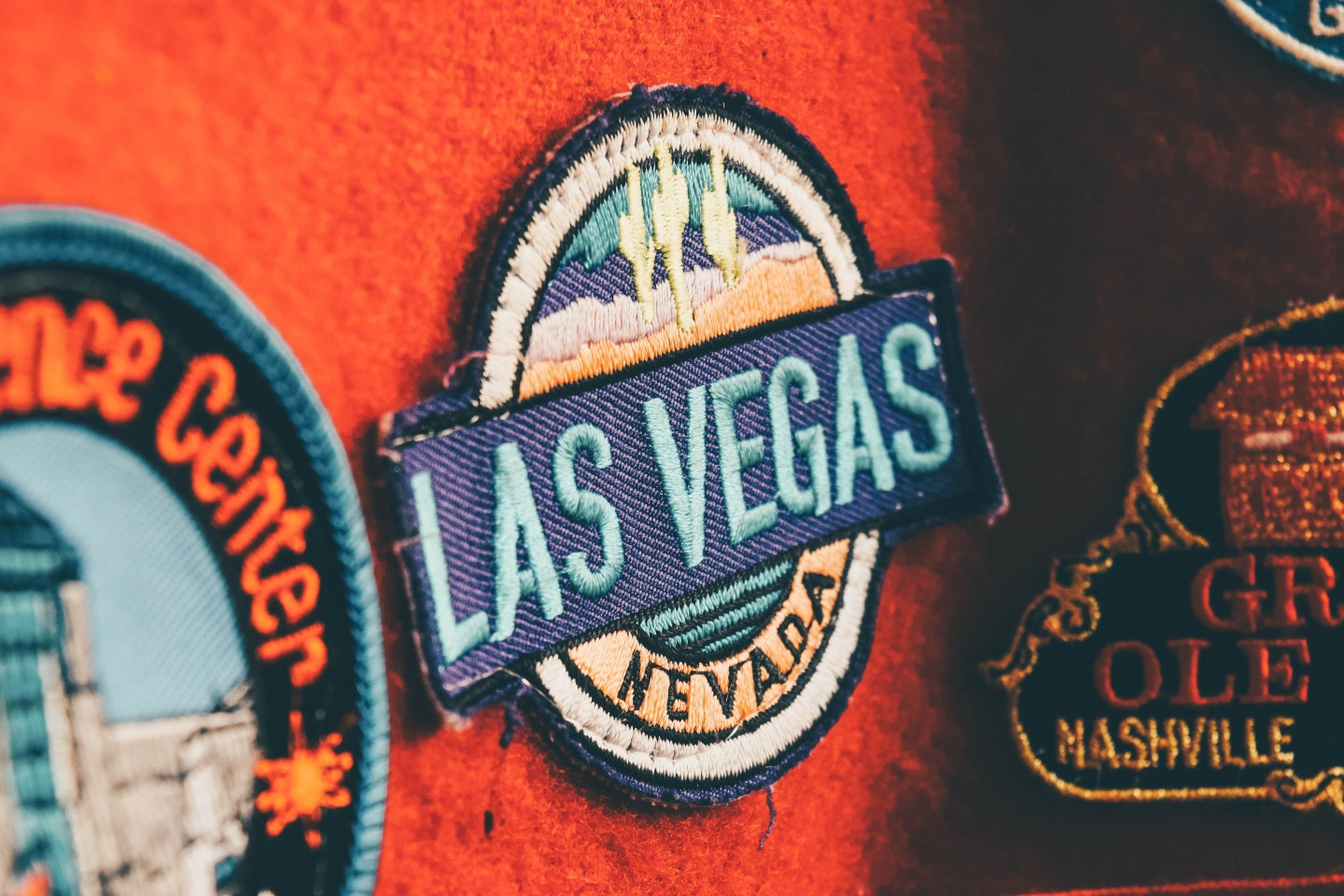 Vegas Badge