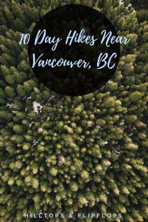 day hikes near Vancouver