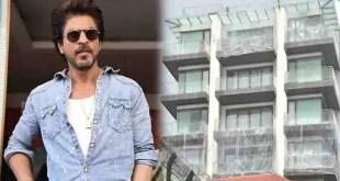 Shahrukh Khan ने अपने बंगले 'Mannat' को किया प्लास्टिक से कवर, जानें वजह।