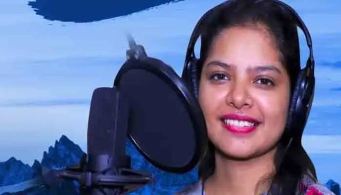 मॉं ज्वाल्पा म्यूजिक ने हिट घूमी ऊला गीत का पोस्टर किया रिलीज, गायिका मेघना चंद्रा ने दिए हैं स्वर।