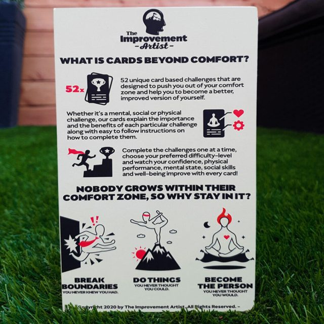 Health Game Rear Cards Beyond Comfort