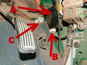 Hilux rear differential locker modification