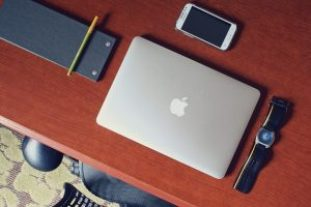 gadgets on a desk