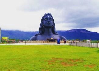 Adiyogi Statue at Isha Yoga Center, Coimbatore