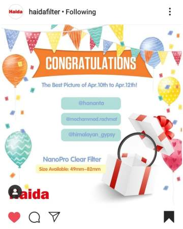 Winner: Haida Filters