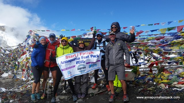 Annapurna Fastpack -  Thorung La - 5,416m/17,769ft