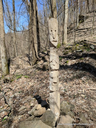 Mystic totem pole