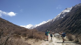 Heading up Langtang Valley