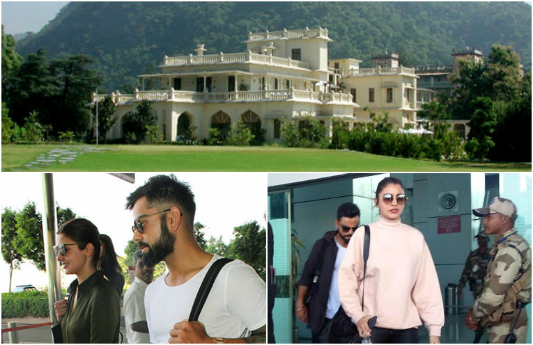 Anushka Shrama & Virat Kohli in Dehradun for New Year Holidays