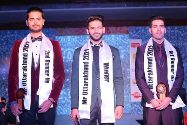 Winner of Mr. Uttarakhand 2021