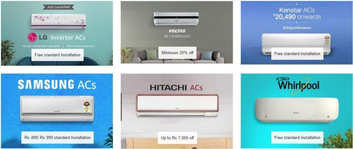 Air Conditioners Buy Split Window AC Online at Best Prices Amazon.in ac