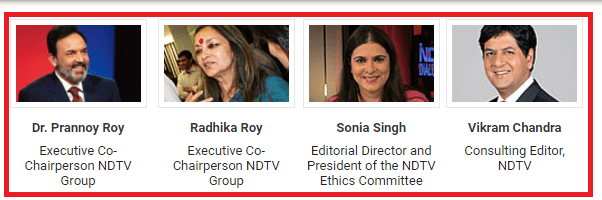 NDTV Corporate Governance
