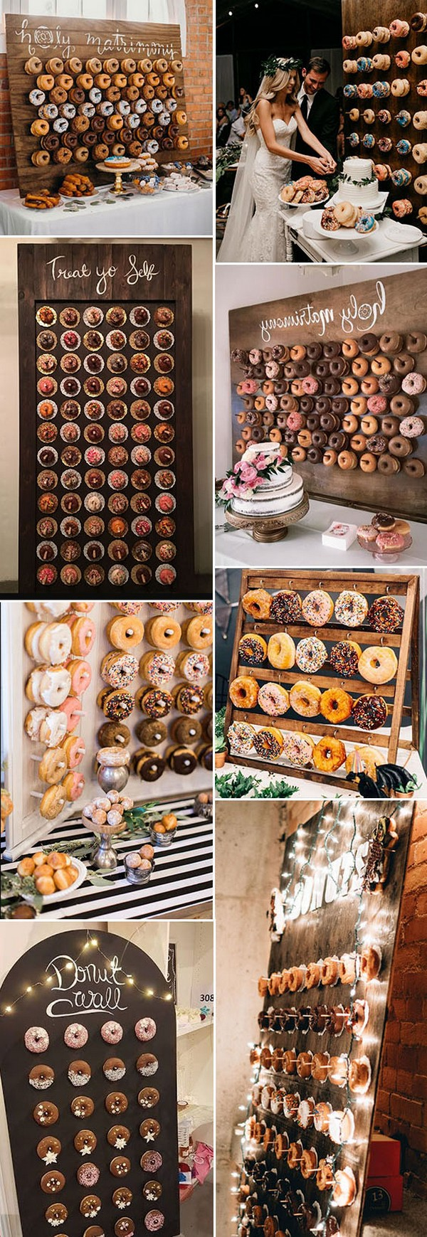 Donuts Wall Donut Display donut display wedding donut display ideas
