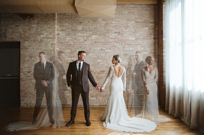Double and Multiple Exposure Wedding Photos #wedding #weddingphotos #weddingideas