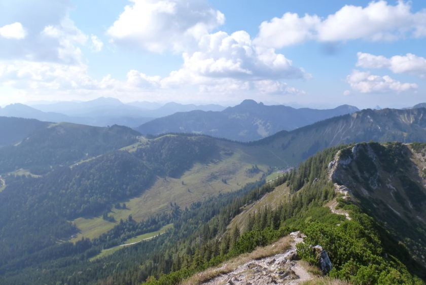 Die Brecherspitze in den Bayerischen Voralpen