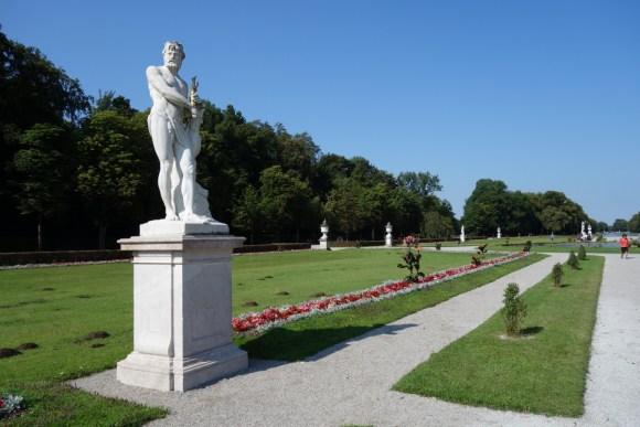 Barockgarten im Nymphenburger Schlosspark