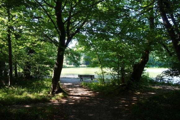 Idylle nahe der Pagodenburg im Nymphenburger Schlosspark