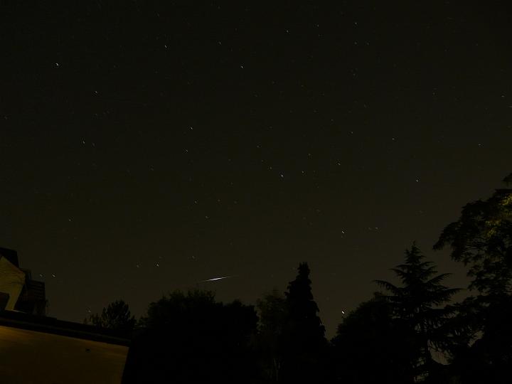 Iridium-Flare (11.08.2012, 23:55 MESZ, -7mag)