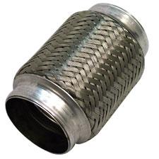 1 75 braided exhaust flex joint 4 00
