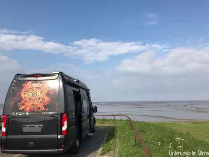 Globe Traveller am Strand #Wohnmobil #Globe #Kastenwagen
