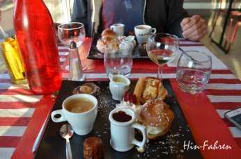 Cafe Gourmand in Veulettes-sur-Mer #Roadtrip #Normandie