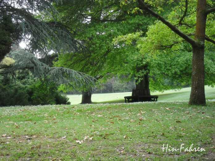Parkgelände in Bois des Moutiers #Park #Frankreich