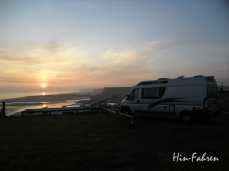 Stilküste und Strand in Saint-Aubin-sur-Mer #Sonnenaufgang #Normandie #Kastenwagen