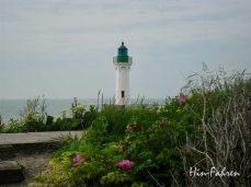 Leuchtturm in Saint-Valery-en-Caux #Wohnmobilplatz #Normandie